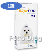 ブラベクトチュワブル錠112.5mg 超小型犬用 2〜4.5kg商品画像