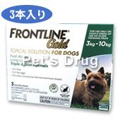 フロントラインゴールド 小型犬用 3〜10kg商品画像