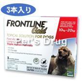 フロントラインゴールド 中型犬用 10〜20kg商品画像