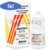 マキシデックス0.1%点眼液5ml商品画像
