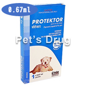プロテクトール・スポットオン 小型犬用 10kg未満商品画像