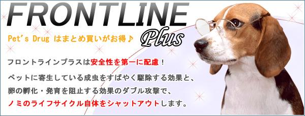 フロントラインプラス 犬用 10kg未満